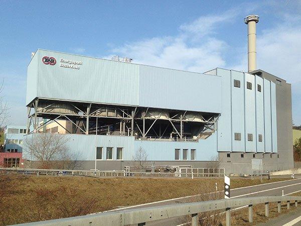 Gebäude von ZAB Energiepark Bazenheid