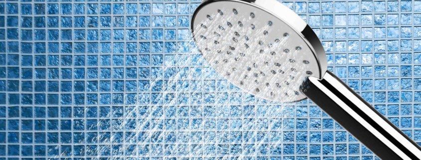 Duschbrause in Dusche